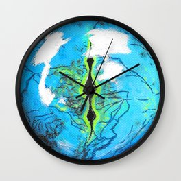 Gecko Eye Wall Clock