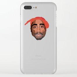 Shakur Clear iPhone Case