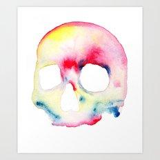 Skull #3 Art Print