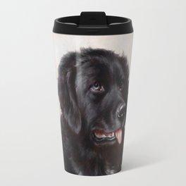 The Newfoundland Dog - Carl Reichert Travel Mug