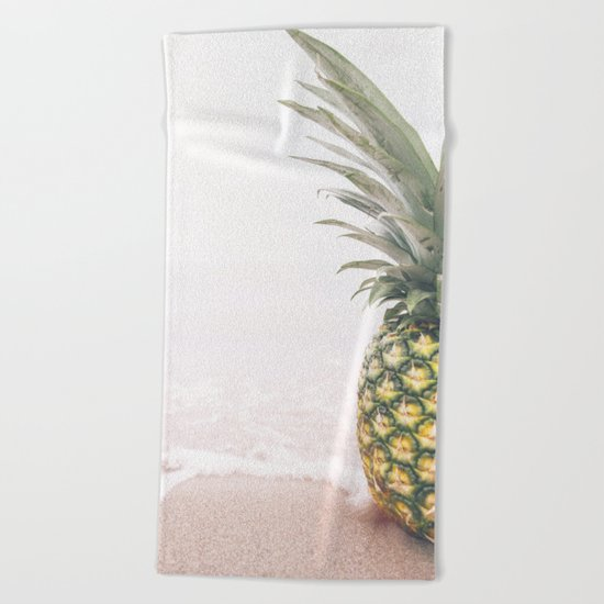 Pineapple Beach Beach Towel