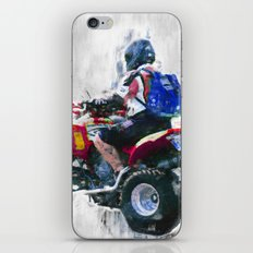 Quad racing iPhone & iPod Skin