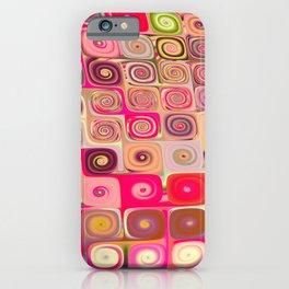 Cascade 7 Brago Mitchell Fine Fractal Art iPhone Case