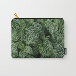 Leafy Abstract Carry-All Pouch