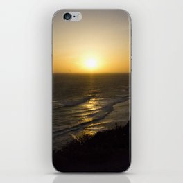Cliff Top Sunset iPhone Skin
