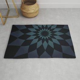 Wonderland Floor in Muted Rain Colors Rug