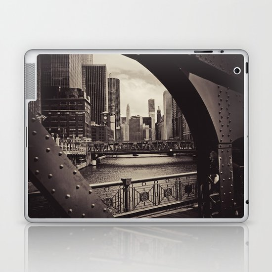 Up The Chicago River Laptop & iPad Skin