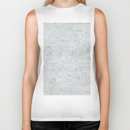 White Washed Brick Wall Stone Cladding Biker Tank