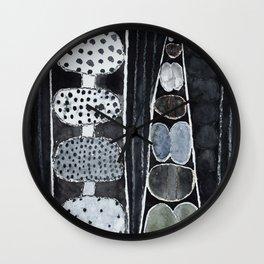 Fragile Sculptures in the Dark  Wall Clock