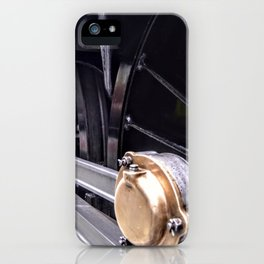 Locomotive drive wheel iPhone Case