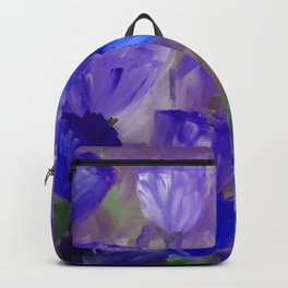 Breaking Dawn in Shades of Deep Blue and Purple Backpack