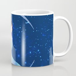 She Sits on the Moon Coffee Mug