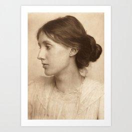Virginia Woolf Vintage Photo,1902 Kunstdrucke