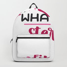 Finish what you started Backpack