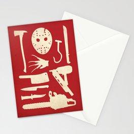 Horror Movie Starter Kit Stationery Cards