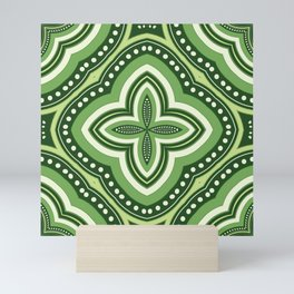 Bohemian Green Mini Art Print