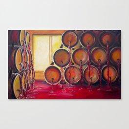 Wineroom of Heaven Canvas Print