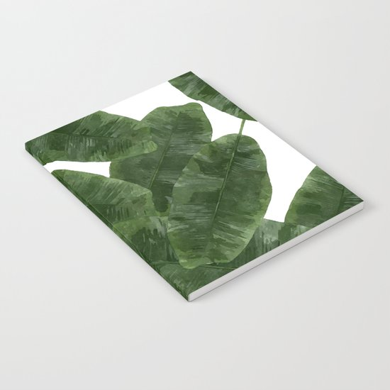 Banana Leaves V2 #society6 #decor #buyart Notebook