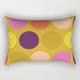 Miss Giggles Polka Dots Rectangular Pillow
