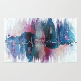 Heartbeat Drama Rug