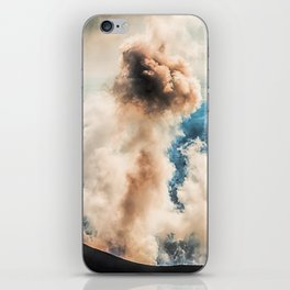 The summit of Karymsky Volcano iPhone Skin