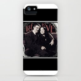 True Love- Gomez & Morticia Addams iPhone Case