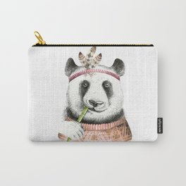 Panda Art Print Carry-All Pouch