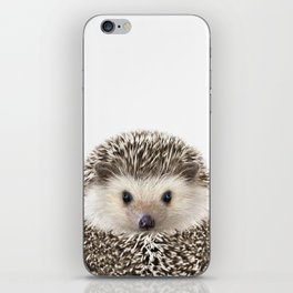 Hedgehog Art iPhone Skin