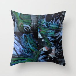 The Abstraction of Utopia and Oblivion  Throw Pillow