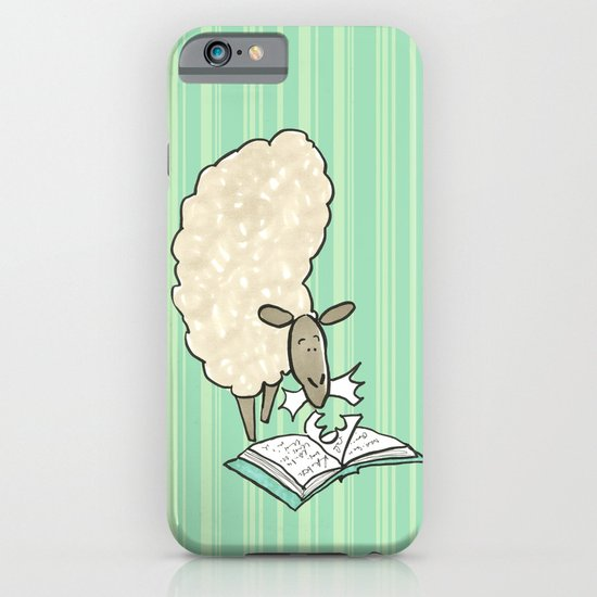 Hungry Sheep iPhone & iPod Case