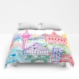New Zealand Towers  Comforters