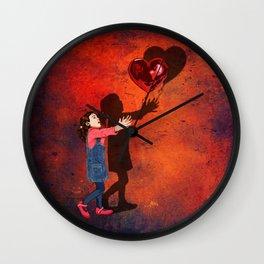 Banksy the love balloons girl iPhone 4 5 6 7 8 x, tshirt, mugs and pillow case Wall Clock