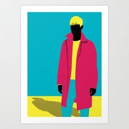 Menswear No:1 Art Print