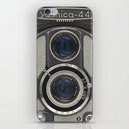 Vintage Camera (Yashica 44) iPhone Skin