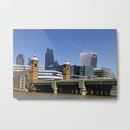 Cannon Street Station London England Metal Print