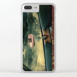 Conglomeration Clear iPhone Case