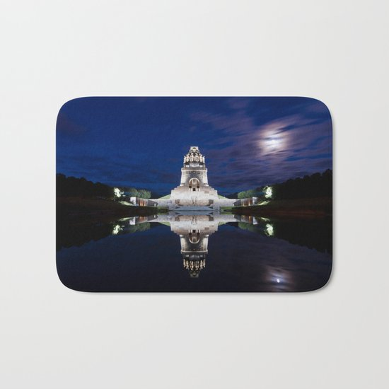Monument of Battles of Nations- Germany - blue hour Bath Mat