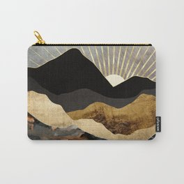 Copper and Gold Mountains Carry-All Pouch