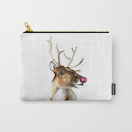 Rudolf the red nosed Reindeer Carry-All Pouch