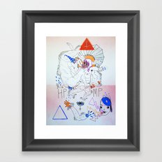 bossfight Framed Art Print