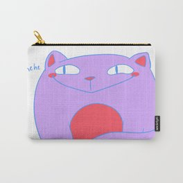 Smug Pastel Kitty Carry-All Pouch
