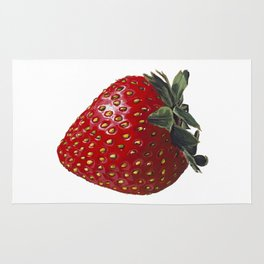 A Strawberry, Out of the Universe Rug