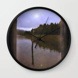 The Forest 02 Wall Clock