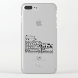 Roma Clear iPhone Case