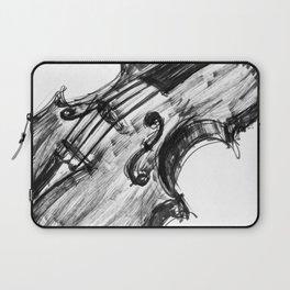 Black Violin Laptop Sleeve