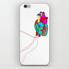 corazón de colores iPhone & iPod Skin