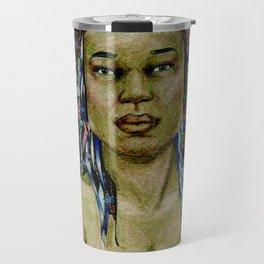 Yemaya, Goddess of the Sea Travel Mug