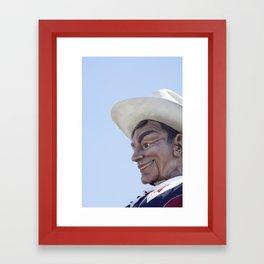 Big Tex 3 Framed Art Print