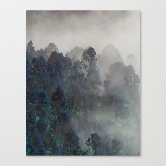 And So The Story Began #society6 Canvas Print