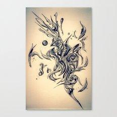Pleasant Rhythm Canvas Print